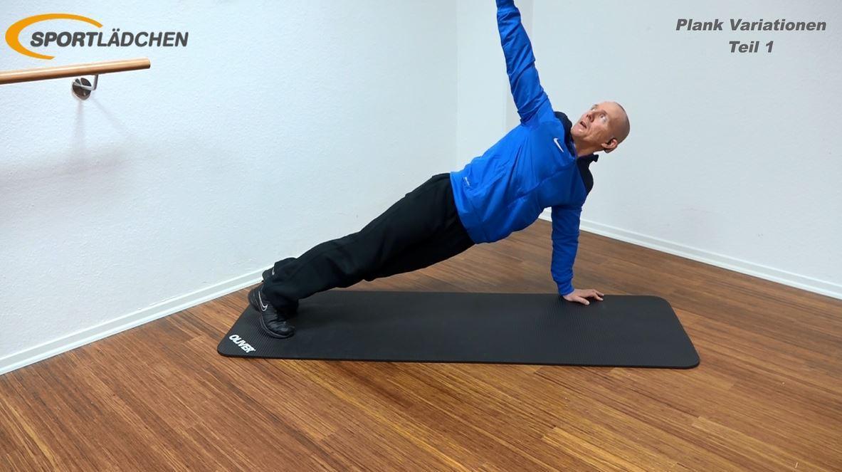 Plank Übung - Rotation mit Liegestütz 3