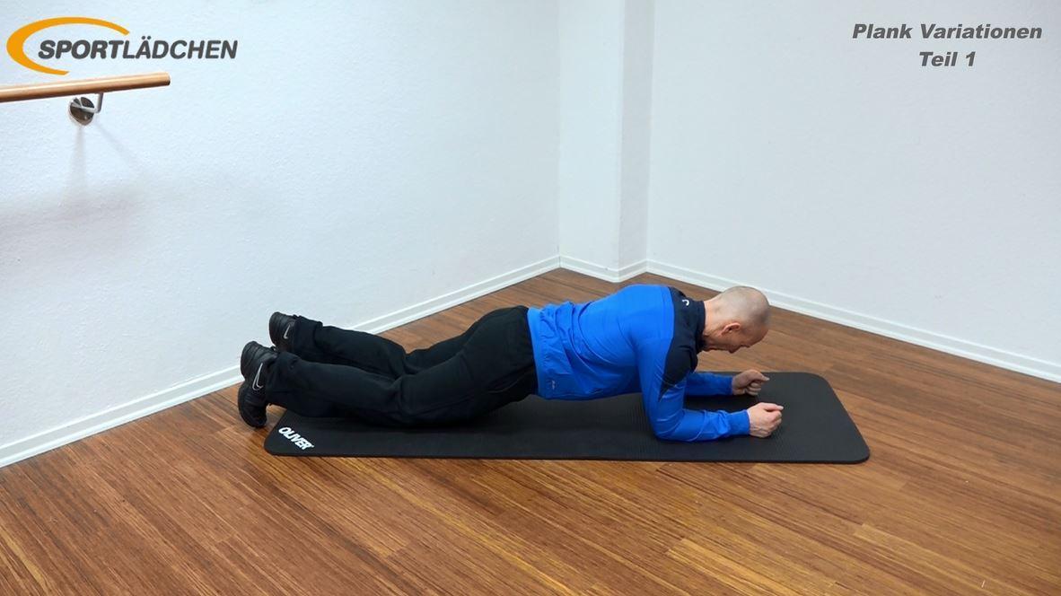 Plank Übung leichte Variante
