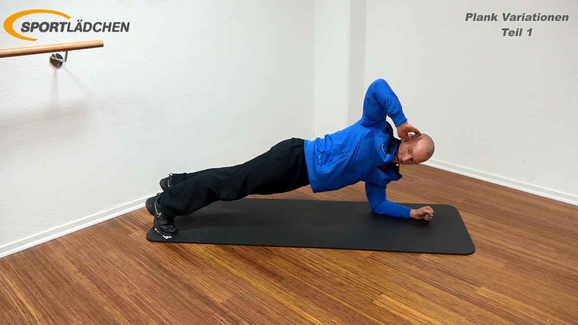 Plank Übung - Rotation 2
