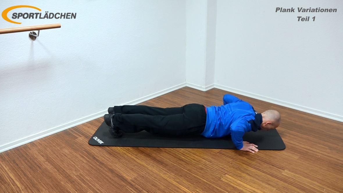 Plank Übung - Rotation mit Liegestütz 2