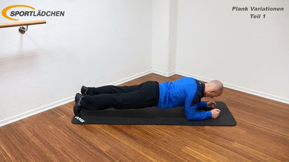 Plank Übung Standard