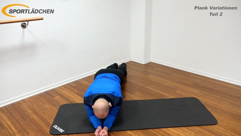 Unterarmstütz Seitwärtsbewegung (Plank Side Travel) 1