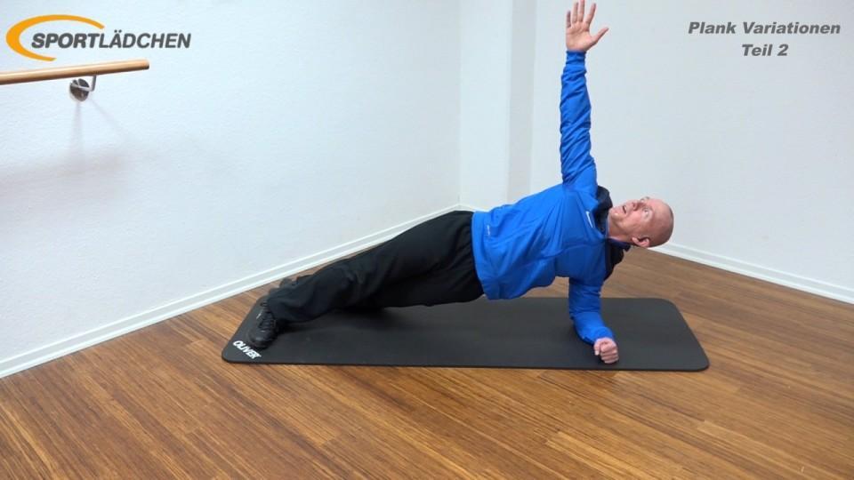 Side Plank mit Rotation 1
