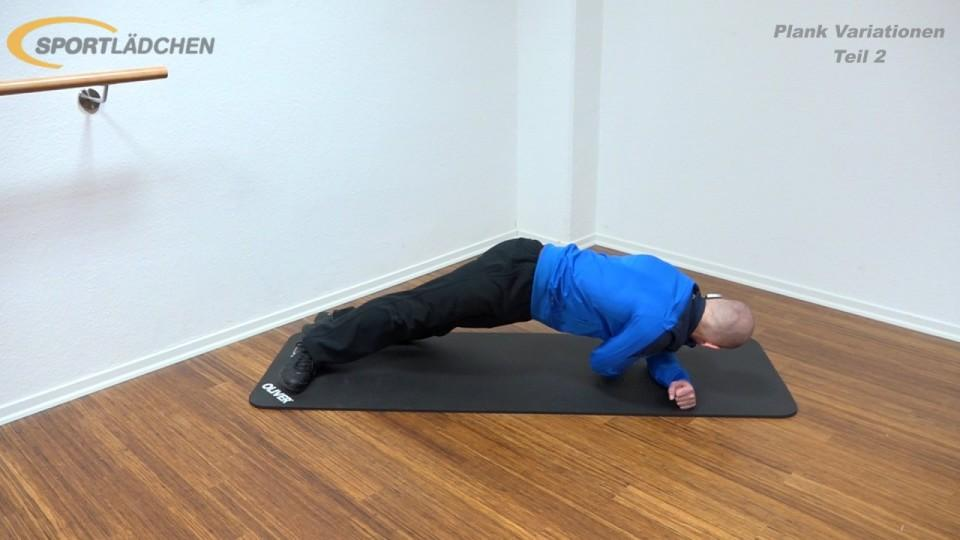 Side Plank mit Rotation 2
