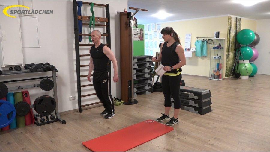 7 Minuten Workout Ausfallschritt 1