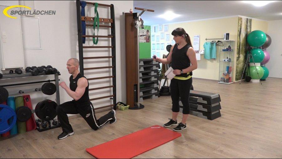 7 Minuten Workout Ausfallschritt 2