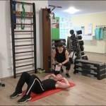 7 Minuten Workout Crunches Bauchpressen 1