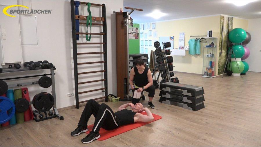 7 Minuten Workout Crunches Bauchpressen 1