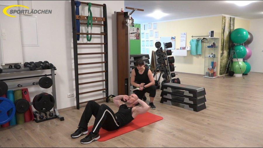 7 Minuten Workout Crunches Bauchpressen 2