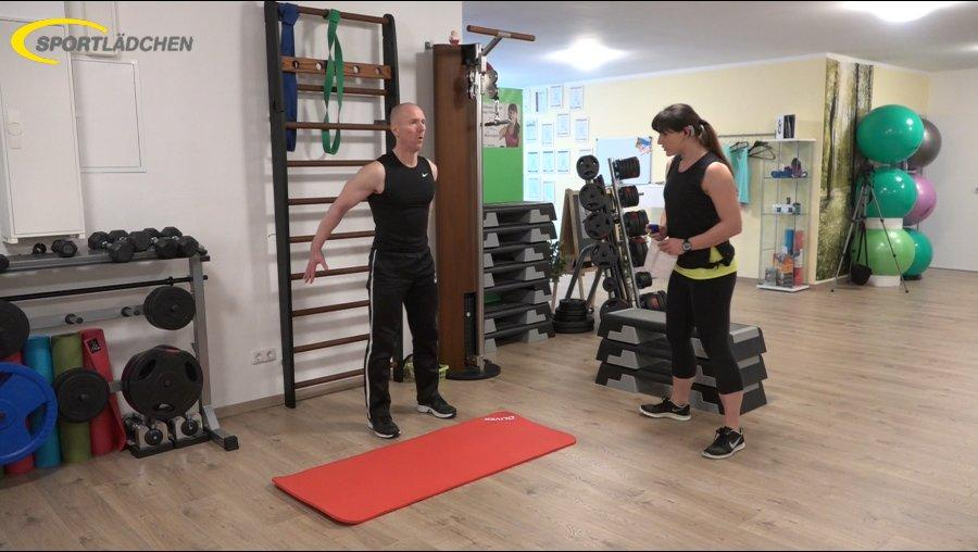 7 Minuten Workout Kniebeuge Squat 1