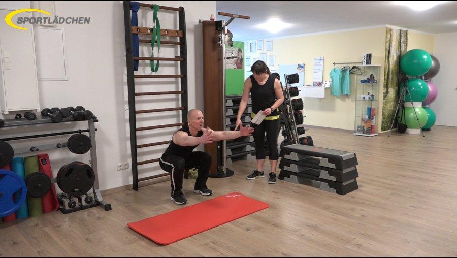 7 Minuten Workout Kniebeuge Squat 2
