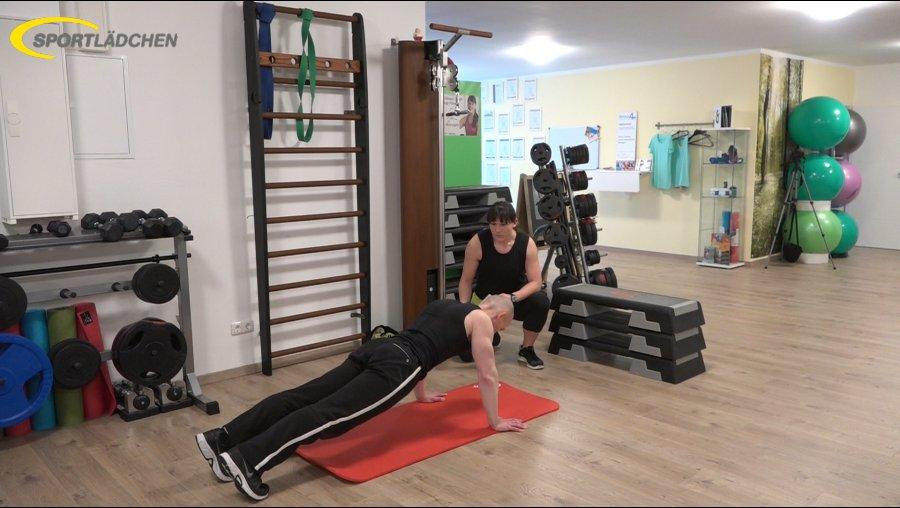 7 Minuten Workout Liegestuetz Push up 1