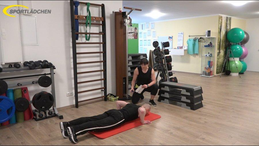 7 Minuten Workout Liegestuetz Push up 2