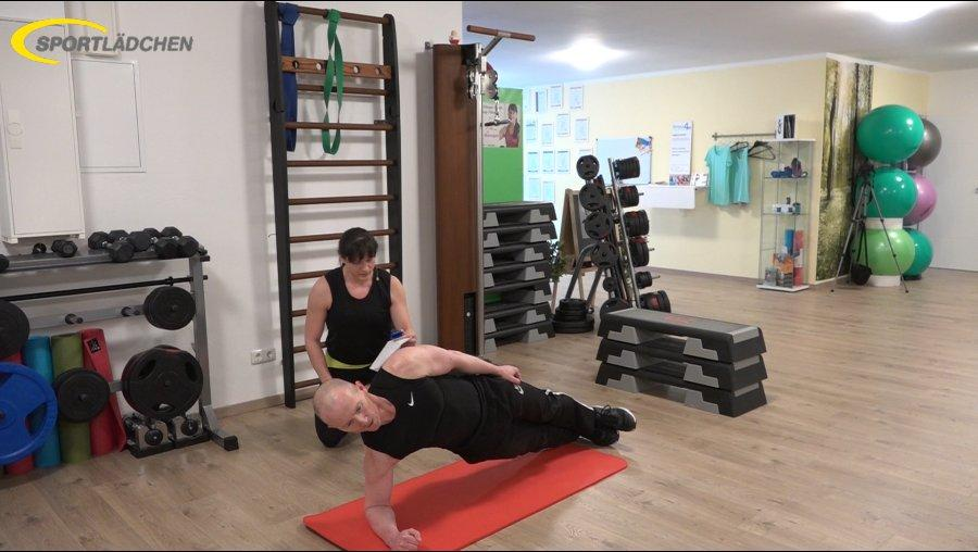 7 Minuten Workout Seitlicher Unterarmstuetz Side Plank