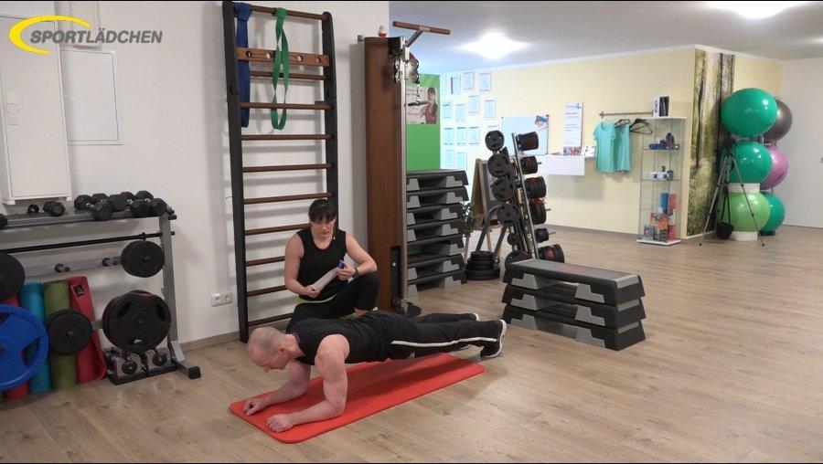 7 Minuten Workout Unterarmstuetz Plank