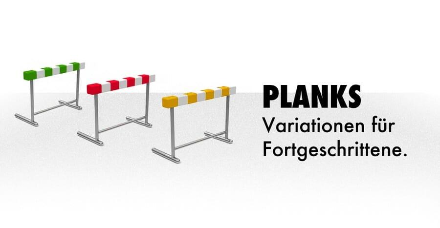 Plank Übung effektiv: Variationen für Fortgeschrittene