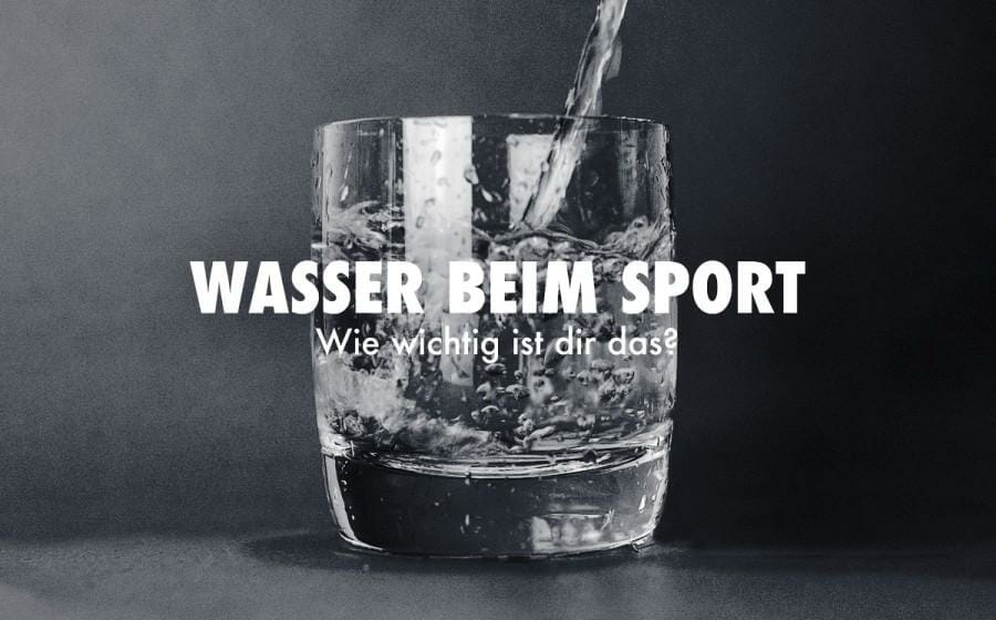 Wasser beim Sport: Wieviel und wann?