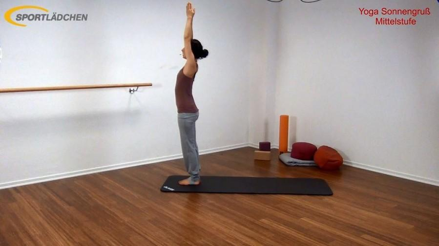 Yoga Sonnengruß Mittelstufe Bild 2