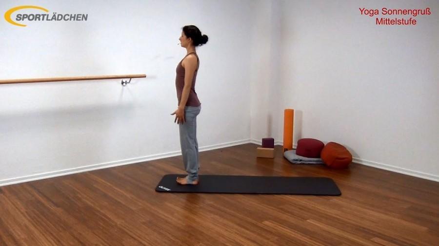 Yoga Sonnengruß Mittelstufe Bild 1