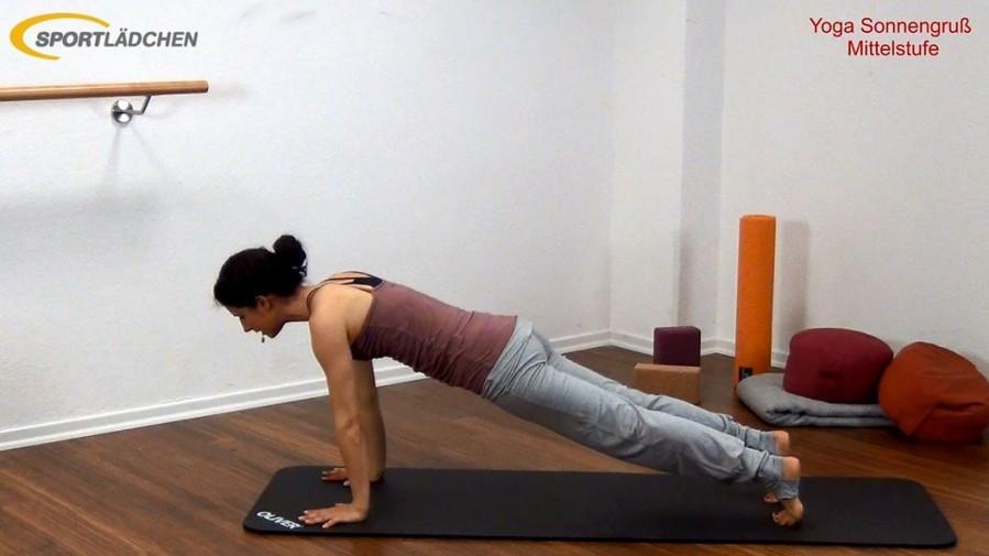 Yoga Sonnengruß Mittelstufe Bild 5