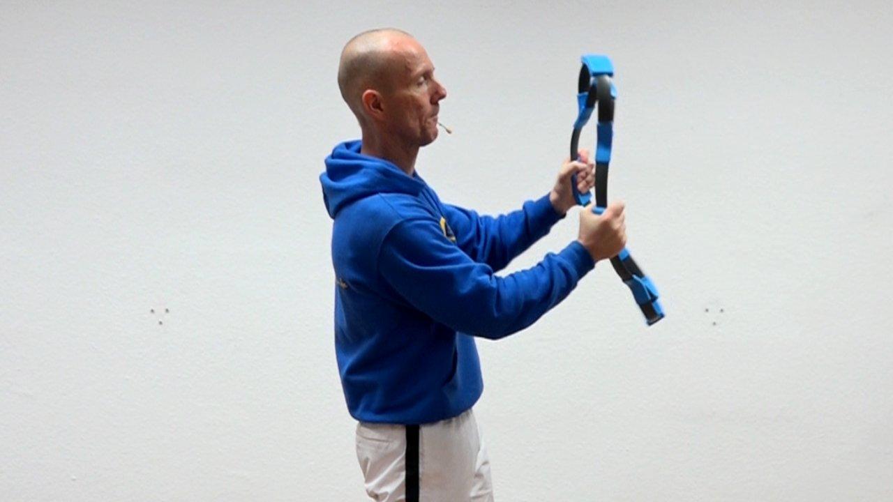 Auch dreidimensinale Bewegungen sind mit dem Flexoring möglich