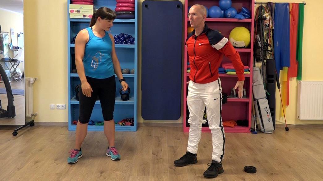 Kniebeuge Tutorial Technik und richtige Ausführung: Ausgangsposition