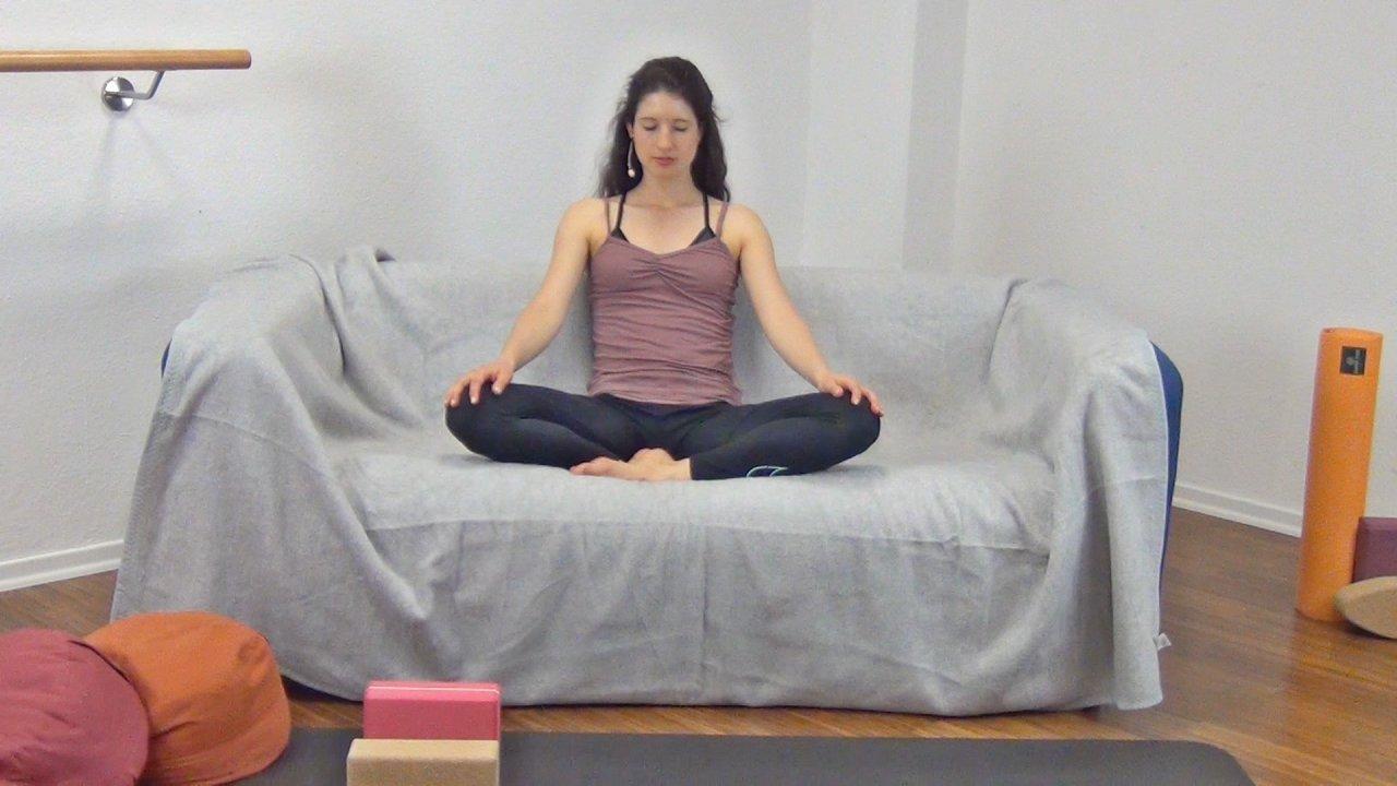 Livingroom Yoga: Die Entspannung zum Abschluss