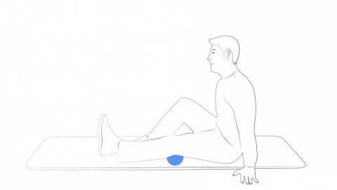 Oliver Doppelball Uebungen Oberschenkel Rueckseite 1