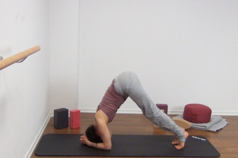 Yoga Kopfstand 10