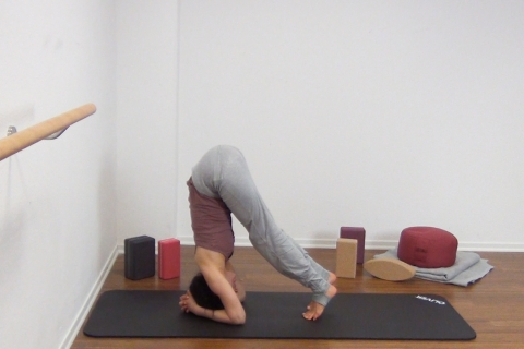 Yoga Kopfstand 11