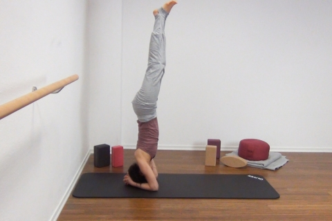 Yoga Kopfstand 12