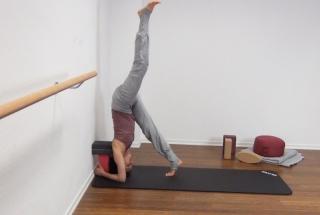 Yoga Kopfstand 6