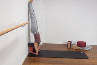 Yoga Kopfstand 7