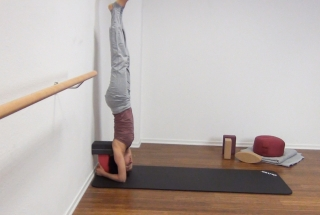 Yoga Kopfstand 8