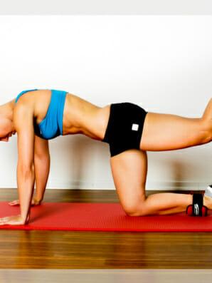 Gelenkaktion Hüftstreckung: Übungen und Beispiele