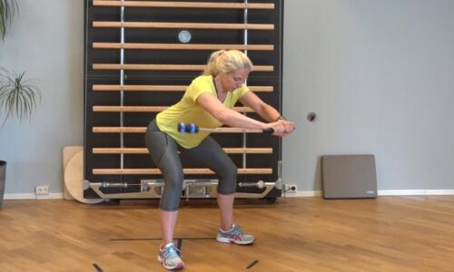 Rueckbildungsgymnastik mit dem Bioswing 5 a