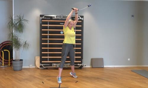 Rueckbildungsgymnastik mit dem Bioswing 5 b