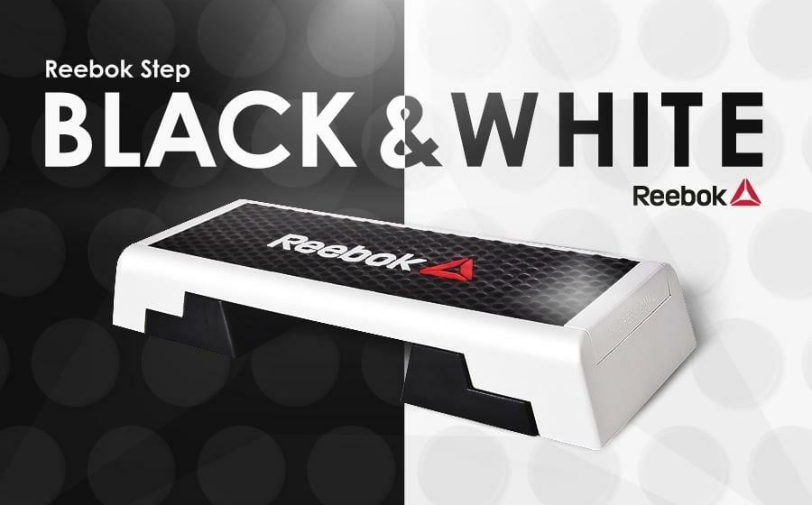 Reebok Step black & white exclusiv bei Sportlädchen