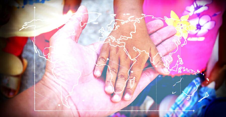 Die Altersstrukturen in der Weltbevölkerung