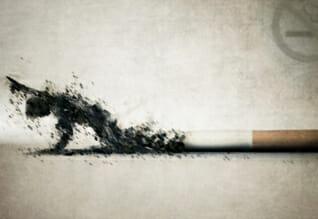 Mit dem Rauchen aufhören!