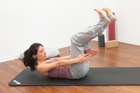 Yoga für den Bauch Fortgeschritten 2b