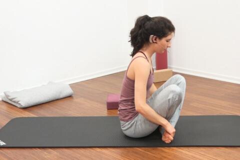 Yoga für den Bauch Fortgeschritten 3a
