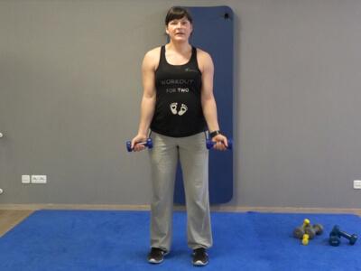 Hantel Workout Bizepcurl 1b