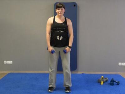 Hantel Workout Seitheben 3a