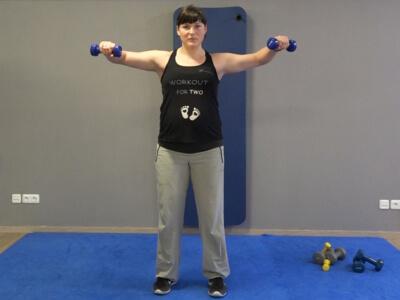 Hantel Workout Seitheben 3b