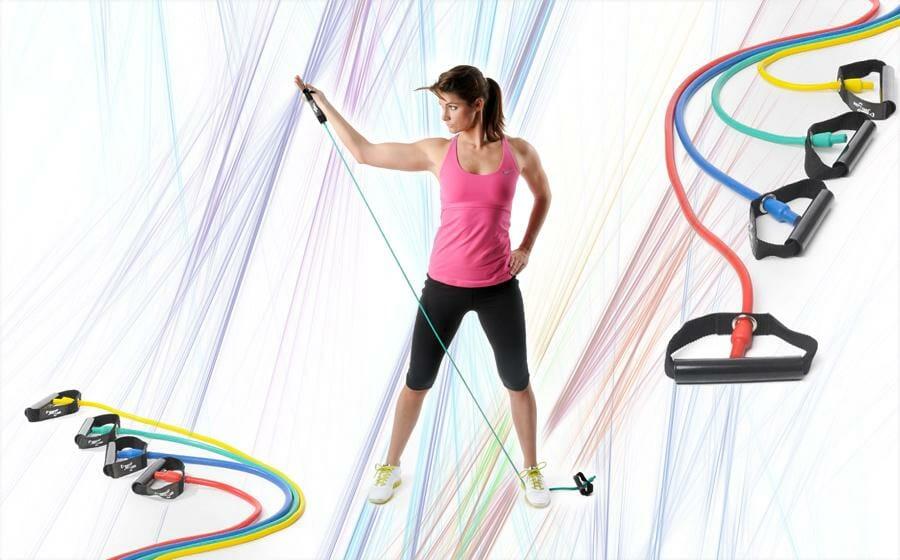 Trainingsband Übungen: Ein komplettes Programm mit dem Bodytube