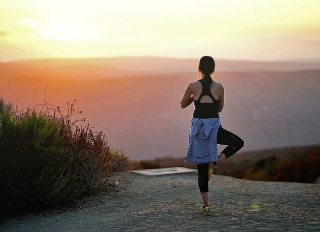 Yoga Sonnengruß für Fortgeschrittene