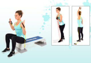 Trainingsband Übungen Teil 2