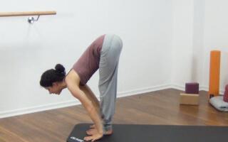 Yoga Sonnengruß Fortgeschritten 4