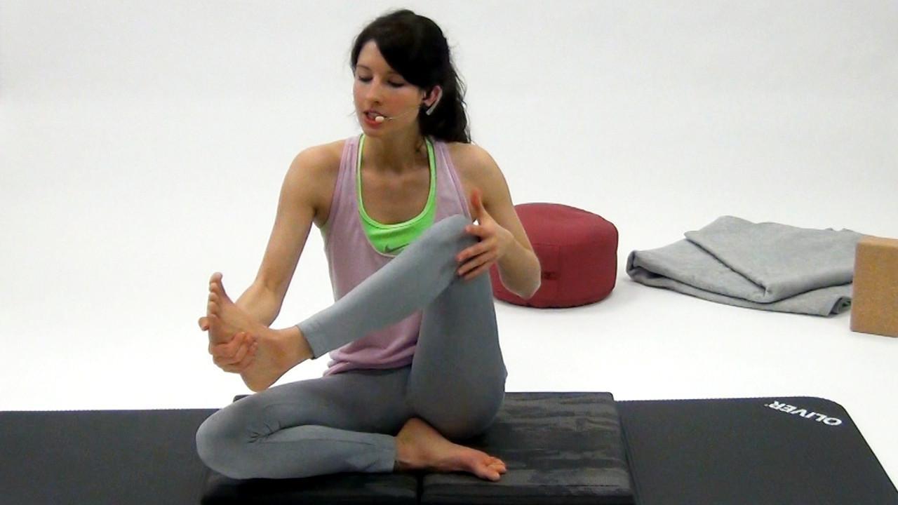 Yoga Sitzende Asanas Mobilisieren der Hüfte